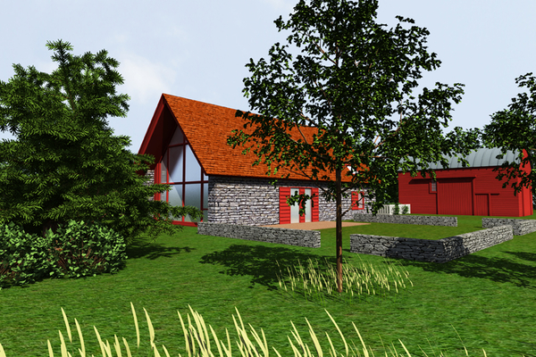 Hudson Passive House conception